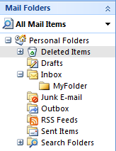Save E-mail attachments to folder